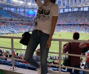 football, girls, and meninas image