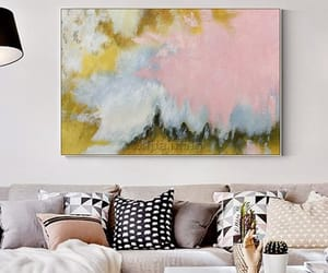 abstract art, Abstract Painting, and etsy image