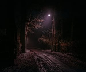 dark, night, and backroad image