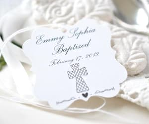 etsy, personalized tags, and personalized baptism image
