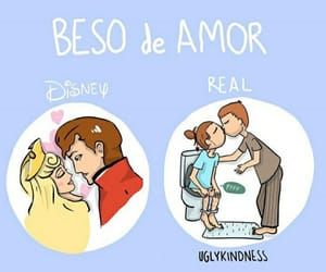 amor, beso, and parejas image