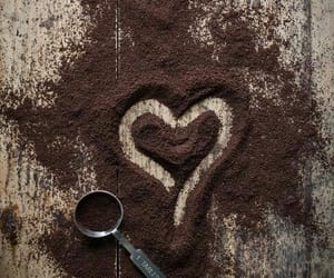 heart, coffee, and love image