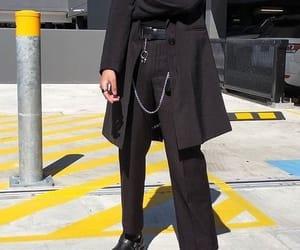 belt, fashion, and black image