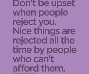 quotes, rejection, and upset image