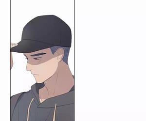 webtoon, li huan, and here u are image