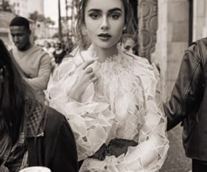 girls, pretty, and lilycollins image