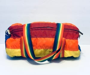 etsy, overnight bag, and vintage carry on bag image