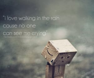frasi, quotes, and rain image