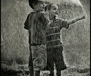 babies, rain, and rainy days image