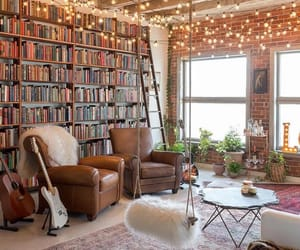 book, home, and light image