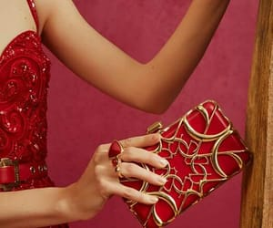 fashion, purse, and red image