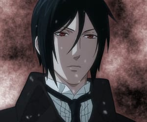 anime, demon, and black butler image