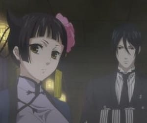 anime, black butler, and sebastian image