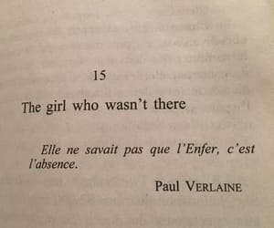 absence, paul, and verlaine image