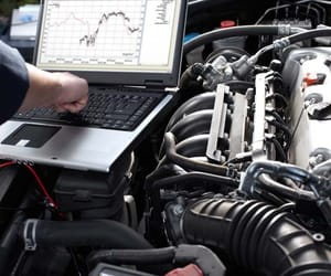 car air conditioning, car mechanic, and auto electrician image