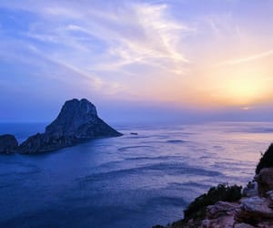 art, Island, and blue image