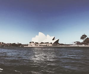aesthetic, australia, and harbour image