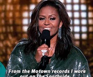 bafta, gif, and michelle obama image