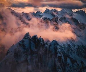 adventure, clouds, and mountains image