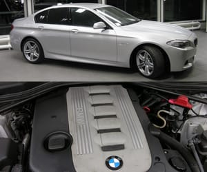 automatic gearbox, bmw 535d, and xdrive all-wheel-drive image