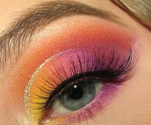 eye makeup, makeup look, and makeup image