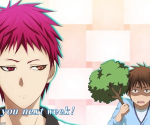 anime, funny, and kuroko no basket image