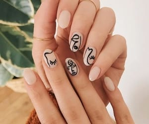 nails, art, and beauty image