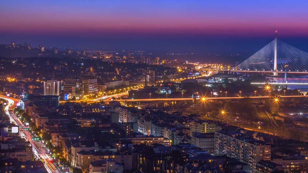 article, nightlife, and Belgrade image