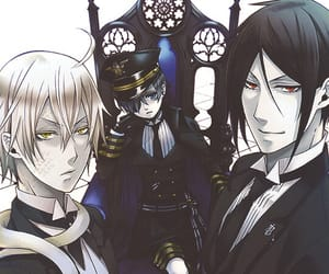 art, black butler, and cool image