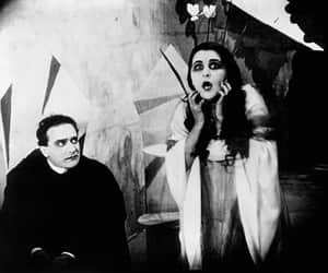 the cabinet of dr. caligari and vintage image