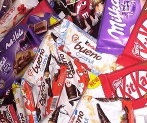 chocolate, snack, and yum image
