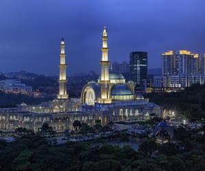 architecture, Kuala Lumpur, and muslims image