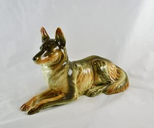 german shepherd, reclining, and collectable image