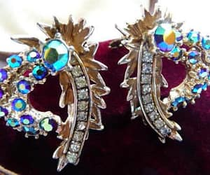 etsy, clip earrings, and 1950s 1960s image