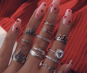 hearts, inspiration, and nails image