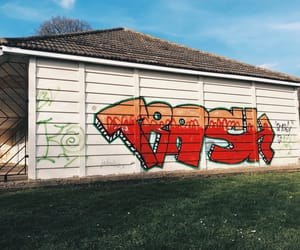 graffiti, park, and tag image
