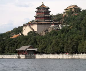 architecture, holiday, and lake image