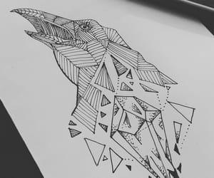 art, bird, and doodles image