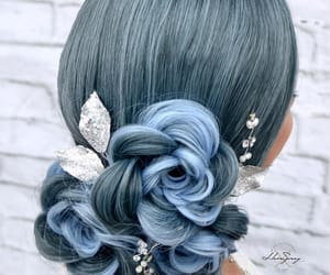 beautiful, beautiful colored hair, and color image