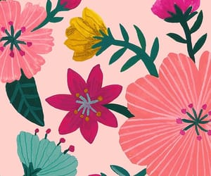 background, wallpapers, and flowers image
