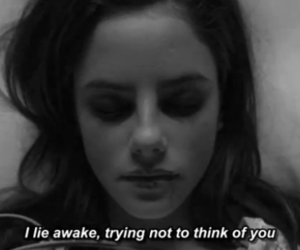 skins, black and white, and quotes image