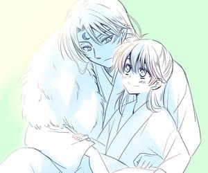 anime, rin, and inuyasha image