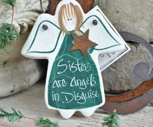 gifts for her, salt dough ornament, and sister birthday gift image