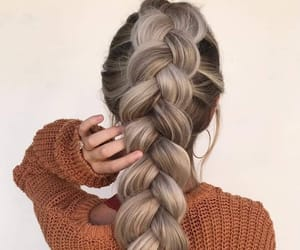 beaut, blond, and braid image