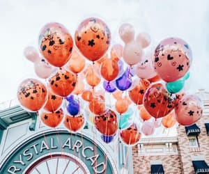 disneyland and balloons image