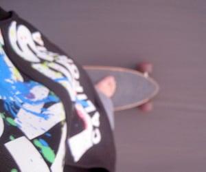 board, longboard, and skate image