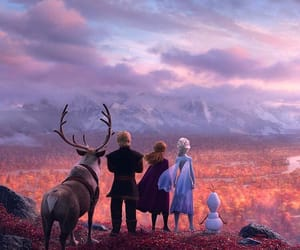disney, frozen 2, and frozen image