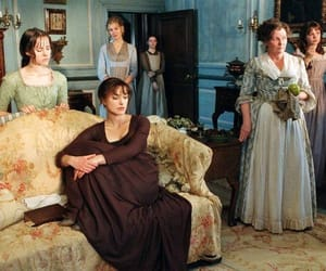 book, keira knightley, and mrs bennet image