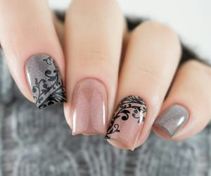 manicure, nailart, and polishnails image
