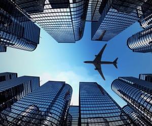 gökyüzü and uçak image